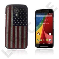 Persson (USA:n Lippu) Motorola Moto G2 Suojakuori