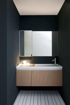vanity, walls, layout AGAPE // Il paesaggio nascosto