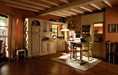 40 Unordinary Italian Rustic Kitchen Decorating Ideas To Inspire Your Home, Rustic Kitchen Design, Design Your Kitchen, Country Kitchen, Tuscan Furniture, Italian Home, Inspired Homes, Home Kitchens, Home Decor, Decorating Ideas