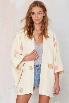 Vintage Aiko Floral Kimono