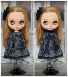 Dress with stockings  for Blythe / Azone pure neemo M/S