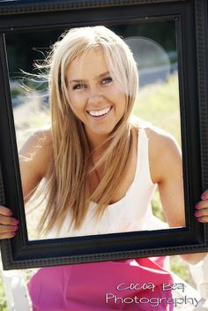 Senior Pictures - Frame great idea for any portrait-dms