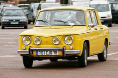 Renault 8 S My first car