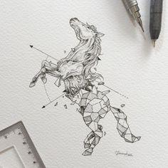 Черно белые эскизы тату. Подборка №2 | Татуировки, их значение и эскизы