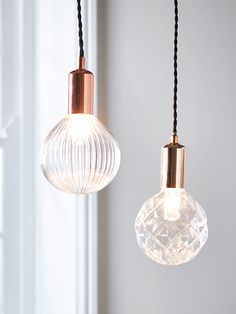 Give ordinary lightbulbs the look of a vintage bulb with these clever glass covers. Available with either an embossed or fluted pattern, they will give an eclectic feel to your interior and be coveted by your visitors. Please be aware that these covers fit into an E27 fittng, while the bulbs inside the cover are small screw E14 SES bulbs.