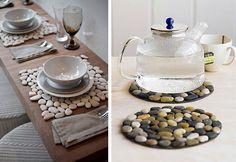Tante idee creative per decorare con i sassi e creare oggetti esclusivi per la propria casa in maniera semplice, originale ed economica
