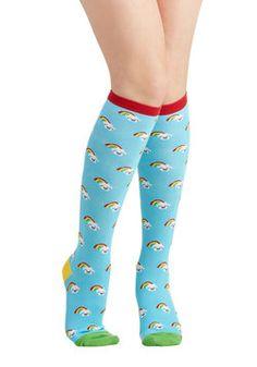 Tights & Socks - Kawaii in the Sky Socks