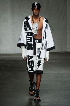 KTZ Menswear Spring 2015