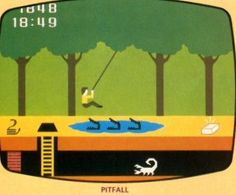 Pitfall! This game had NO end. You just played & played & played until time ran out. I loved our Atari.