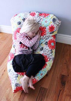 Super Simple DIY Kids Bean Bag Chair: A Step-by-Step Tutorial