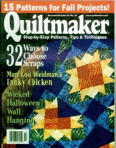 Quiltmaker 81 - christine pages - Álbuns da web do Picasa..FREE MAGAZINE,PATTERNS AND INSTRUCTIONS!!