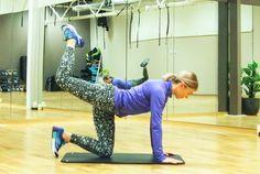 3 øvelser som løfter og styrker rumpa uten å belaste knærne.