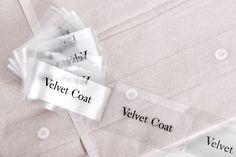 Velvet Coat by Kiku Obata & Company — The Brand Identity