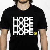 Support the work of HOPE:Global by purchasing a t-shirt. All proceeds go to help build homes for orphans & widows. All T-shirts come in a free HOPE tote bag.