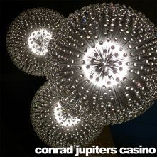 Jupiters Casino Big Bang by Yellow Goat Lighting (note this company)