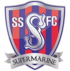 Swindon Supermarine F. Soccer Logo, Football Team Logos, British Football, Sports Clubs, Crests, Badges, England, Football
