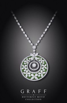 H D Diamonds is your direct contact to diamond trade suppliers, a Bond Street jeweller and a team of designers.www.handddiamonds... Tel: 0845 600 5557 Graff's beautiful butterfly motif necklace