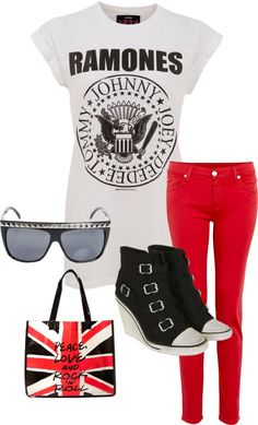 """""""Rock in Roll High School"""" by wendylippert on Polyvore"""