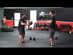 Kettlebell juggling - i love things like this...i want to try it
