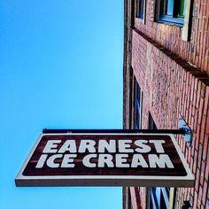 Earnest Ice Cream Vancouver, Ice Cream, Packaging, Photoshoot, Logo, Sherbet Ice Cream, Logos, Photo Shoot, Photography