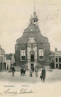 Stadhuis Schiedam, grote markt