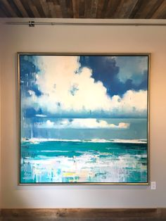 Breakers 6' x 6' / oil on linen Available from the Saladino Gallery danny@saladinogallery.com