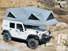 2016 Jeep Wrangler / With Camper Pop Up Tent Jeep Jk, Wrangler Jeep, Jeep Truck, Jeep Wranglers, Auto Jeep, Ford Trucks, Jeep Camping, Jeep Tent, Camping Glamping