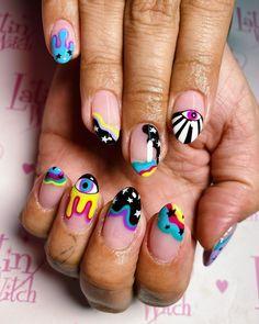 the real flynn sadie ( Classy Nails, Fancy Nails, Simple Nails, Pretty Nails, Best Acrylic Nails, Acrylic Nail Designs, Nail Swag, Ongles Bling Bling, Ten Nails