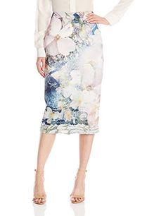 Ted Baker Women's Sinda Tile Floral Midi Skirt, Navy, 4 Ted Baker http://www.amazon.com/dp/B00Y3XG02C/ref=cm_sw_r_pi_dp_dli2wb07PR4J4