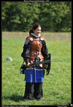 Really good female larp armor