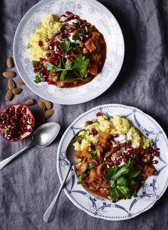 Veggie Recipes, Vegetarian Recipes, Healthy Recipes, Veggie Dinner, Dinner Is Served, Moussaka, Winter Food, Food Cravings, Salsa Verde