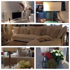 """Spring arrived in our Showrooms.  :) As well as our new """"Holiday"""" Sofa by Molteni@C"""