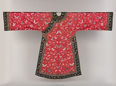 Woman's Informal Robe with Butterflies from China. Turn of the 19th century. The Met.