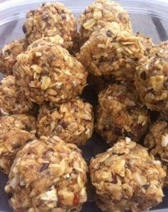 Healthy Snack – No Bake Protein Bites