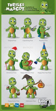 Turtle Mascot-001