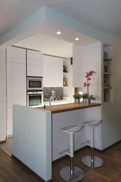 Cozinhas minimalistas por moovdesign