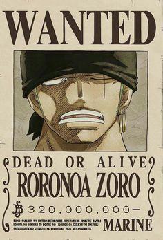 Wanted Zoro