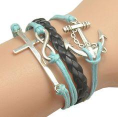 MOKOLO Bronze Infinity Lady Retro Knit Cross Love/Rudder Anchor/Love Charms Suede Wrap Bracelet MOKOLO http://www.amazon.com/dp/B00LBWYM6O/ref=cm_sw_r_pi_dp_nOVVtb1080R4P8W3