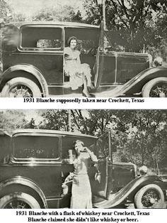 Blanche Barrow: Photos of her Life with Bonnie and Clyde ~ Blanche Barrow's Page