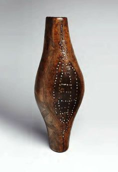 Africa ~ Shield from the Dinka People of Sudan ~ wood & glass beads ~ late 19th to start of the 20th century