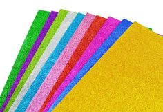 Multicolor EVA Sponge Glitters Foam Paper For Background Fold scrapbooking Paper Craft Punch Stamping DIY Gift Decor Card Toy-in Crafts from...