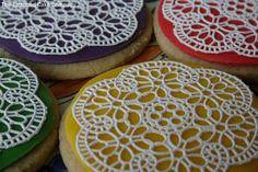 Sugarveil cookies - Cake by TattooedCake