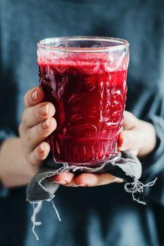 Beet and ginger detox elixir