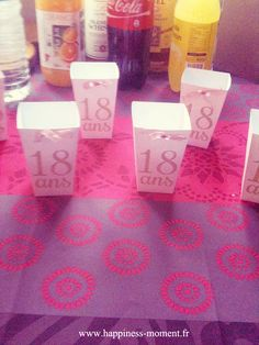 Ma petite soeur a fêté ses 18 ans (déjà!) ce week-end... Pour l'occasion elle faisait une petite fête avec famille et amis. Du coup o...