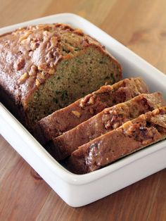 Pinned this for the bread recipe but discovered one she has for homemade pecan ice cream!The best zucchini bread ever.Because you know I have too much Zucchini ! Best Zucchini Bread, Zucchini Bread Recipes, Best Zuchinni Bread Recipe, Zuchinni Pumpkin Bread, Pioneer Woman Zucchini Bread, Yummy Treats, Delicious Desserts, Dessert Recipes, Gastronomia