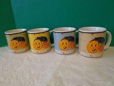 4 Pumpkin Halloween Coffee Cups Mugs Sakura Kimble Fall Cats Pumpkin Dreams #Sakura