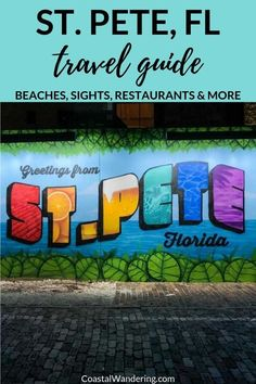 Here are 12 of the best things to do in St. Petersburg, Florida, including a guide to the local beaches, historic sights, and even some awesome restaurants. Florida Vacation, Florida Travel, Florida Beaches, Florida Trips, Clearwater Florida, Usa Travel Guide, Travel Usa, Canada Travel, Travel Guides