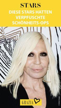 Schönheitsoperationen gehören in Hollywood einfach dazu. Dass dabei einiges schief laufen kann, beweisen wir euch nun mit einem Vorher-Nachher-Vergleich. #grazia #grazia_magazin #herbst #frisuren #vorhernachher #vorher #nachher #vergleich #stars #celebrities #hollywood #beautyop #schönheitsop #chirurgie