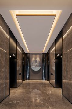 38 Modern Ceiling Design Ideas - When you want to create unique ceiling designs, rope crown molding is perfect for any home. This type of crown molding can add style and class to any . House Ceiling Design, Ceiling Design Living Room, Bedroom False Ceiling Design, Ceiling Light Design, Home Ceiling, Home Room Design, Home Interior Design, Living Room Designs, House Design