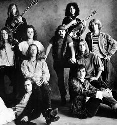 Galería de fotos. Irving Penn photo of The Grateful Dead, and Big Brother & The Holding Company, 1967.